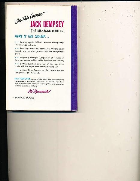 1949 Jack Dempsey by Nat Fleischer Boxing Bantam Book at Amazon's