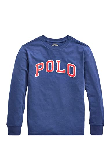 Polo Ralph Lauren - Camiseta Manga Larga LS CN TP-TSH Fall I Navy ...