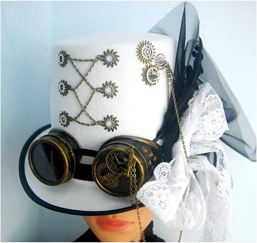Party Top Hat With Gear...