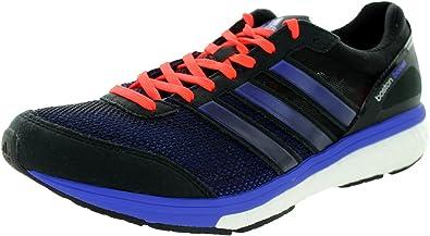 ADIDAS B44009, Zapatos para correr para hombre, color Negro, talla 47 1/3 EU: Amazon.es: Zapatos y complementos