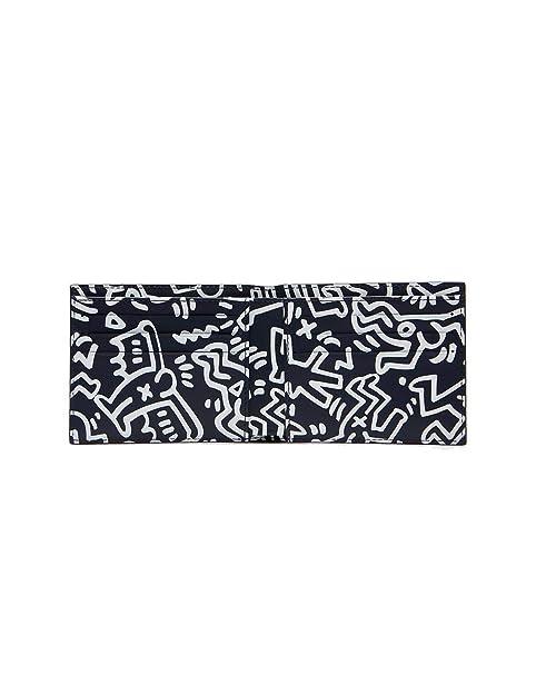 Cartera DE Piel LACOSTE X Keith Haring Peacoat Unica Azul ...
