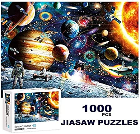 Blue Stars 1000 Piece Jigsaw Puzzle for Adults Fun Indoor Activity Educational Intellectual Fun Family Game Puzzle for Adults Kids Puzzle