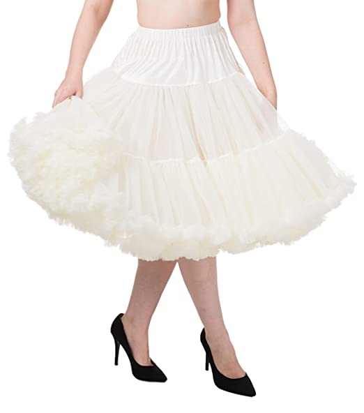 What Did Women Wear in the 1950s? Banned Apparel Lifeforms Petticoat £44.56 AT vintagedancer.com