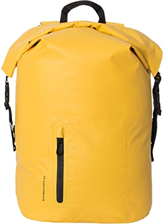 4cf67b7c0f STORMTECH WXP-1 Adult s WP Back Pack (35L) Yellow Black One Size ...