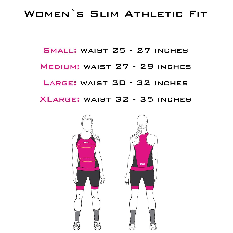6 inch Black Tri Short for Women Super Comfy and Durable SLS3 Womens Triathlon Shorts Slim Athletic Fit Triathlon Suit Women