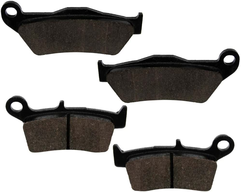 Caltric Brake Pads for Yamaha Yz125 Yz250 Yz 125 250 1998-2002 Front Rear Brakes