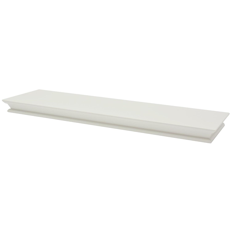 1192161 /B.Organised fetim flotante estante de pared cl/ásico/ color blanco 1/pieza /80/cm/