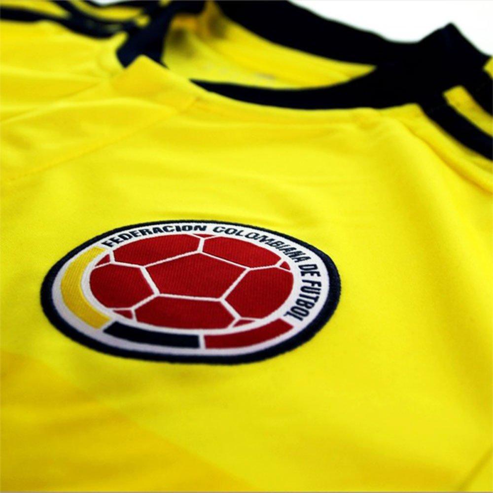 James #10 Camiseta 1ra Colombia De Fútbol Los Hombres 2015 (M): Amazon.es: Deportes y aire libre