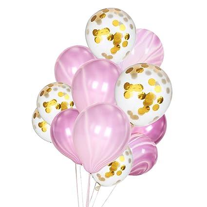 Clerfy Acc 20 Pcs Globos Decoraciones de Cumpleaños ...