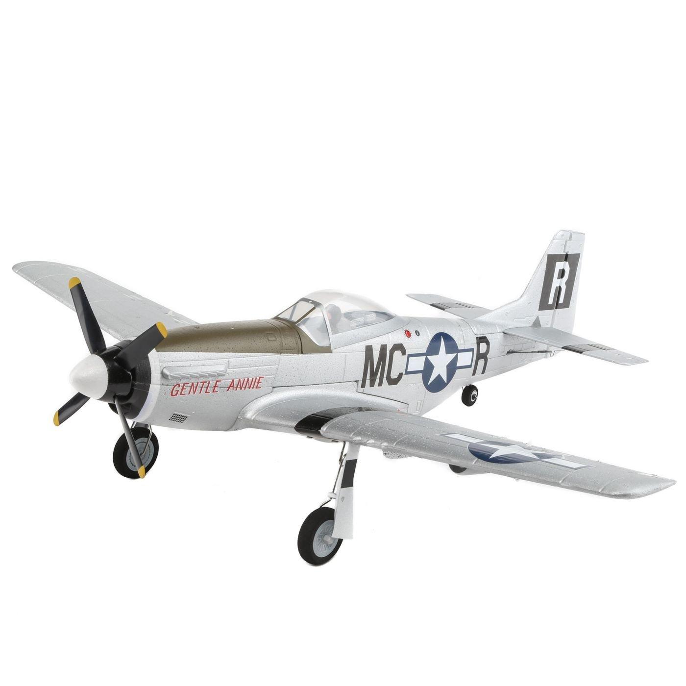 E-flite UMX P-51D BL BNF Basic with AS3X, EFLU3350