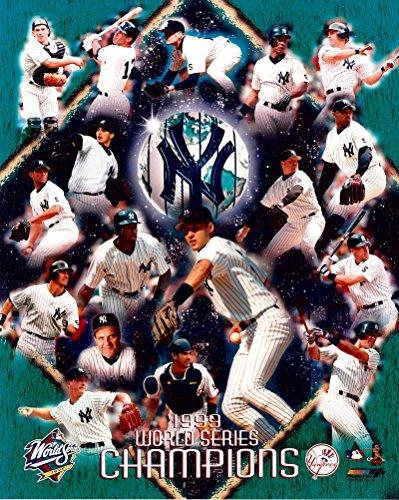 Pettitte World Series (8x10 Photo of the New York Yankees 1999 World Series Celebration Collage!)