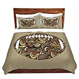 DiaNoche Designs Microfiber Duvet Covers Susie Kunzelman - Football Away Game