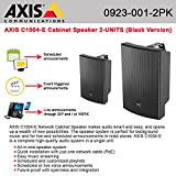 AXIS C1004-E Network Cabinet Speaker Black w/ single cable PoE 2-UNITS