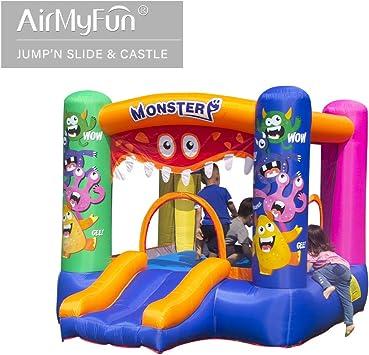 AirMyFun - Casa Hinchable con soplador de Aire, Castillo Hinchable ...