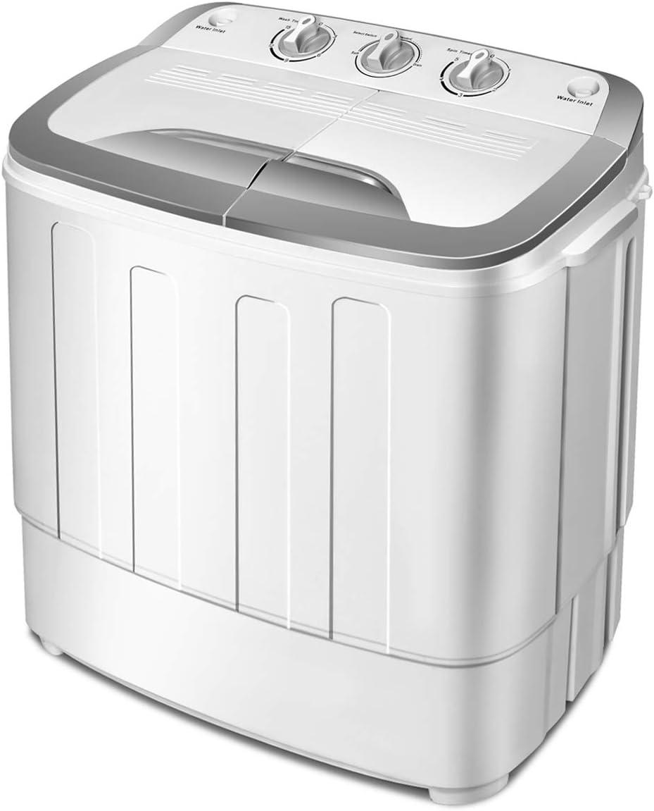 Giantex Portable Compact Mini Twin Tub Washing Machine