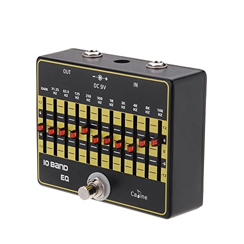 Caline USA, CP-24 10-Band EQ Guitar Effect Pedal