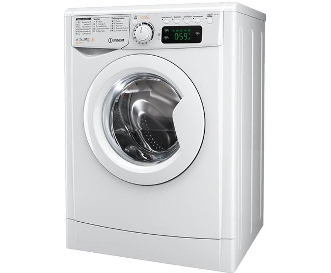 Indesit - Ewde 71280 w de blanca lavadora-secadora, a, 7 kg / 5 kg ...