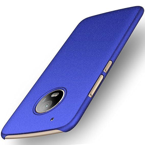 size 40 3bbe8 2cd7e ORNARTO Moto G5 Plus Case,G5+ [Basic Series] Thin Fit Shell Premium Hard  Plastic Matte Finish Non Slip Full Protective Anti-Scratch Cover Cases for  ...
