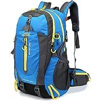 Lixada 40L Resistente al Agua Mochila, Portátil Mochila Trekking, Laptop Daypack, Durable…