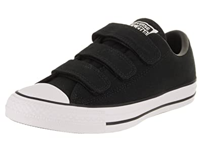 eca0649494ac Converse Women s Chuck Taylor All Star 3V Ox Black Black White Casual Shoe 5