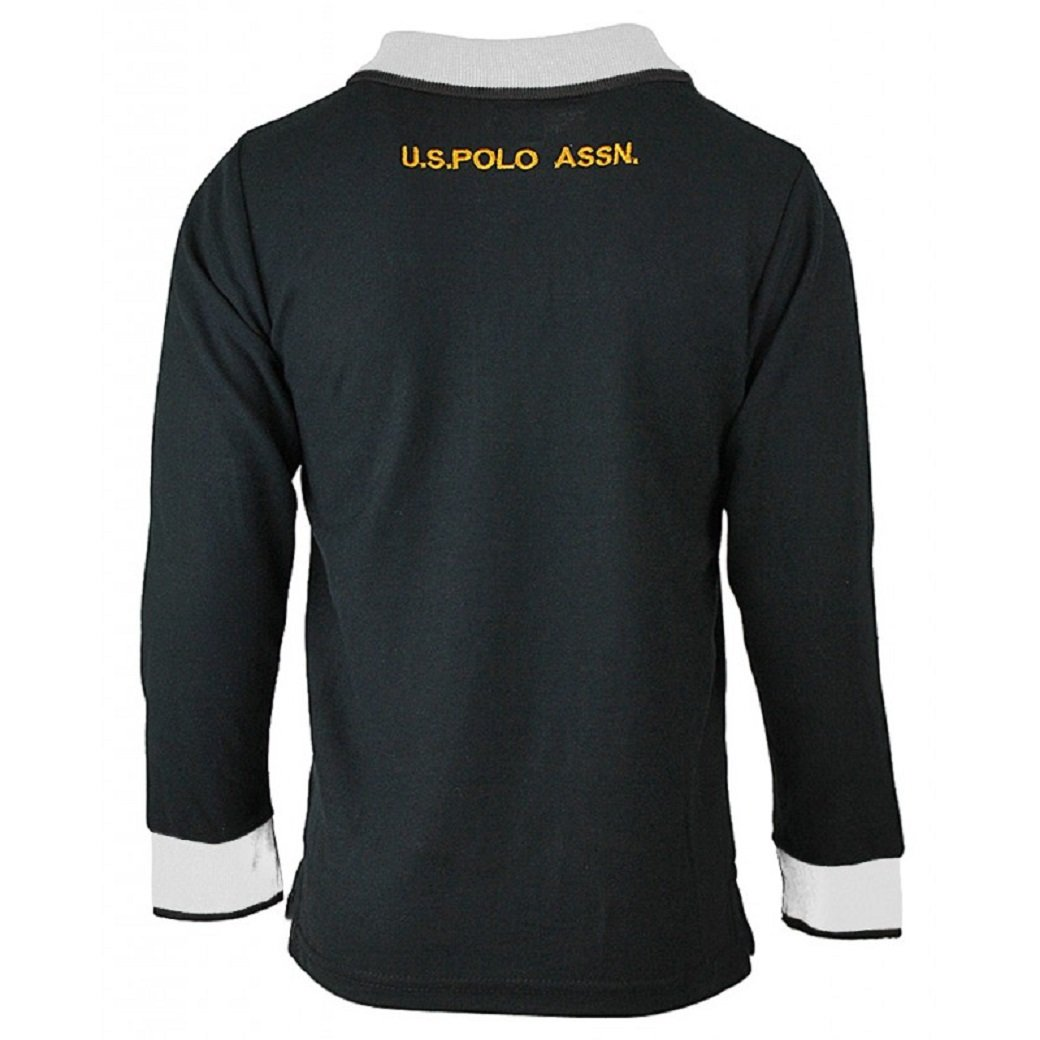 1-12yrs Boys Multi Stripe Slim Fit Shortsleeve Polo T-Shirt Collared Top.Sizes