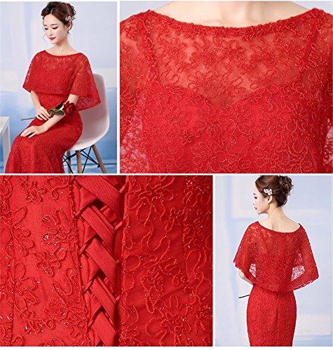 Rot Schlauch Drasawee Drasawee Damen Damen Kleid 4XH6Zcqw