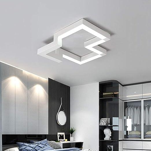 LED-BeAu Lámpara de Techo Moderna Creativa Simple Sala de Estar ...