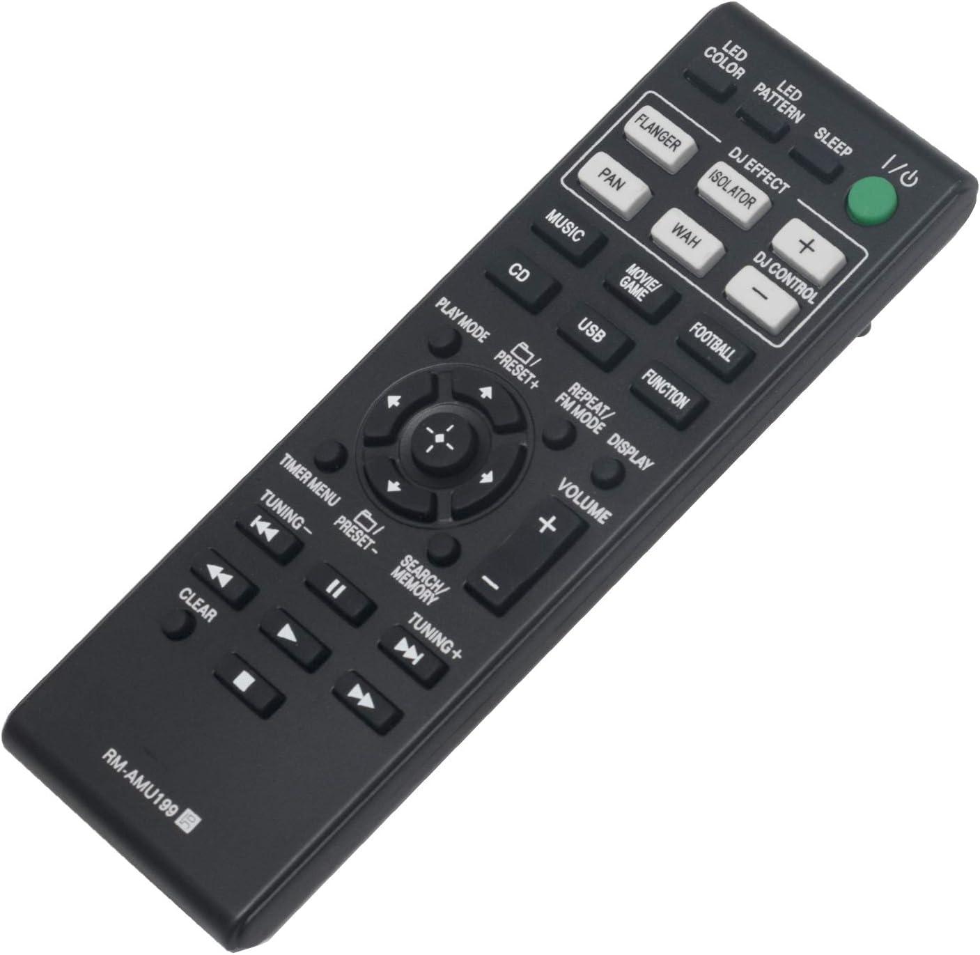Control remoto para Sony HCD-SHAKE33/55/77