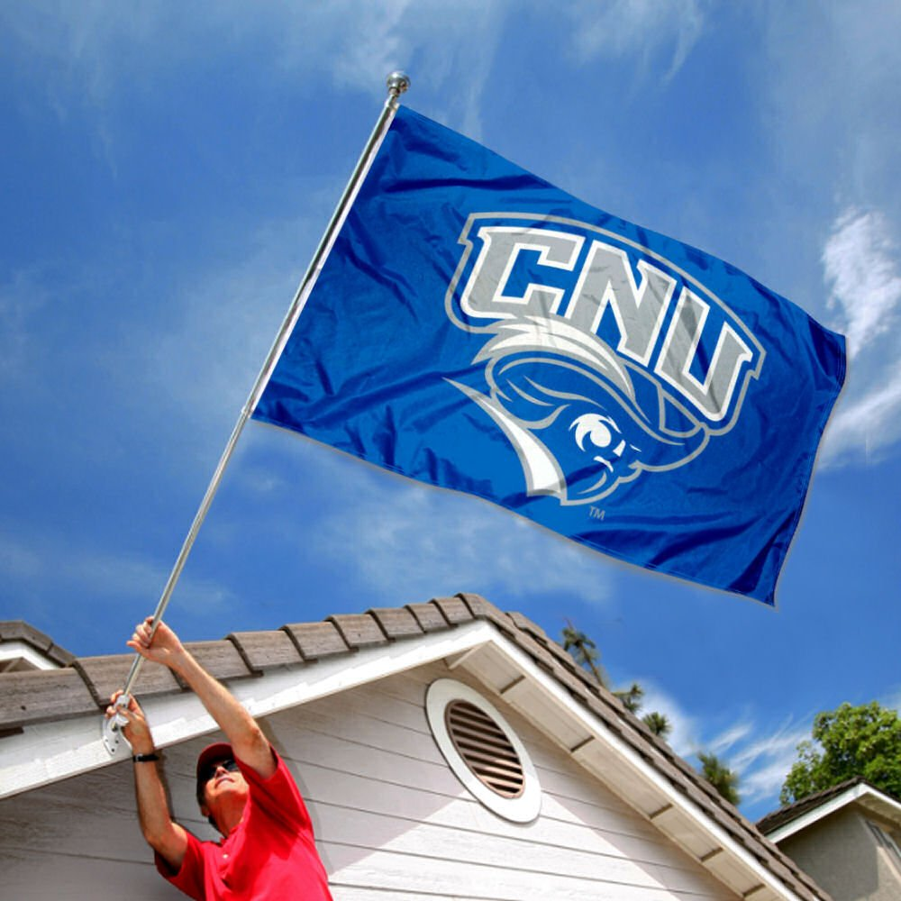 CNU Captains Large 3x5 College Flag