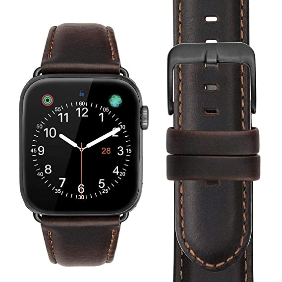 Amazon.com: Compatible for Apple Watch 42mm 44mm Band ...