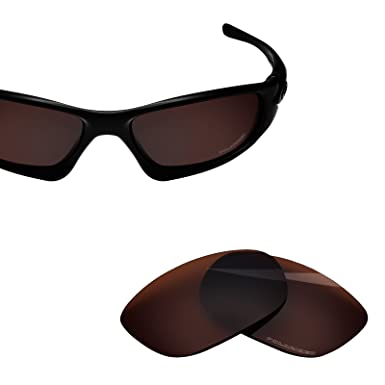 6e28805438f BlazerBuck Anti-salt Polarized Replacement Lenses for Oakley Ten X - Amber
