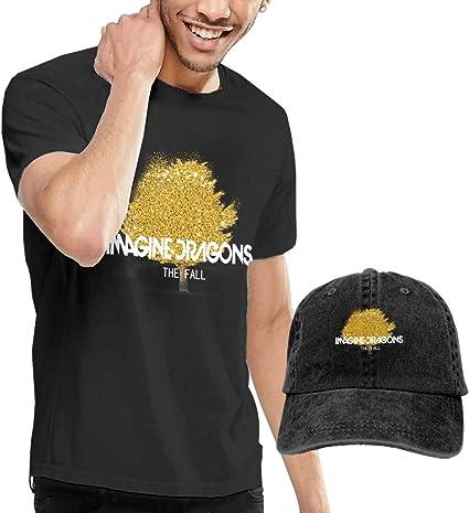 Fall Golden Tree Imagine Camiseta y Sombreros de Hombre ...
