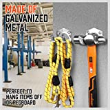 SEDY 19-Pieces Spring Grips & U-Utility Hooks