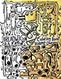 img - for Breadwig Coloring Book Volume One: A relaxing coloring book for adults featuring cartoony patterns of silly animals, wacky people, and weird machines. (Breadwig Coloring Books) (Volume 1) book / textbook / text book