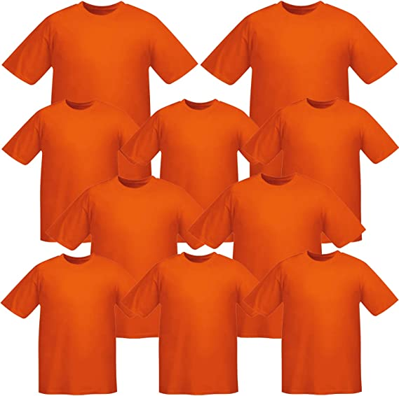 MISEMIYA - Pack*10 Pcs - Camiseta Uniforme Laboral Industrial Taller MECÁNICO TÉCNICO Fontanero ALBAÑIL- Ref.001: Amazon.es: Ropa y accesorios