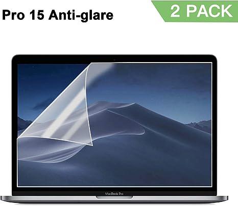Screen Protector Compatible MacBook Pro 15 inc.. 2 Pack NEW Anti Glare Matte
