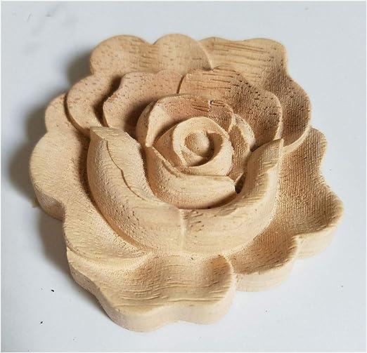 Charme woodcarving Decal European sculpté Appliqué pour cabinet Home Furniture 1PC