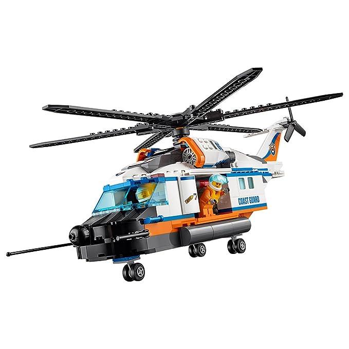 Amazon Lego City Coast Guard Heavy Duty Rescue Helicopter 60166