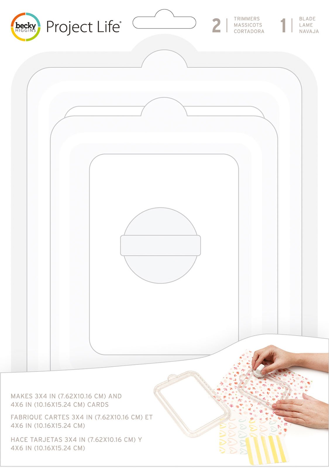 American Crafts Project Life Card Trimmer Kit-