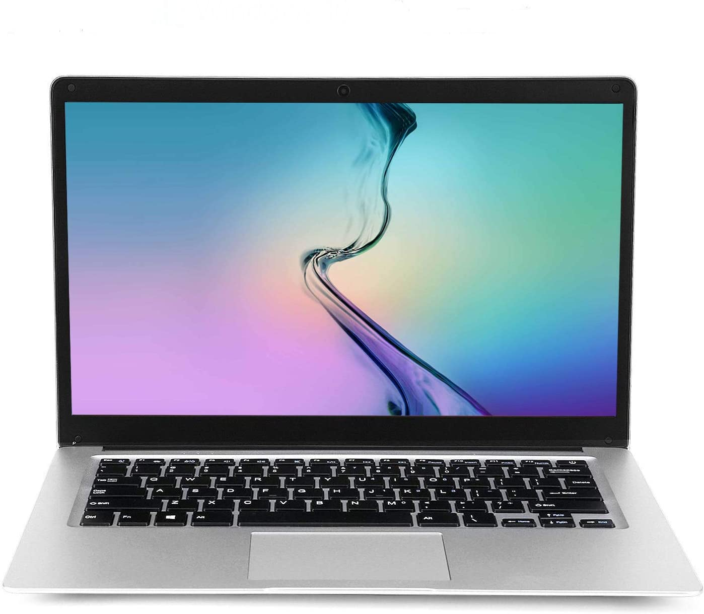 15.6 inch Laptop Computer PC Notebook, 8GB RAM 128GB Storage, Intel CPU Quad-Core Celeron J3455 1.5GHz, 10000mAh Large Capacity Battery Endurance