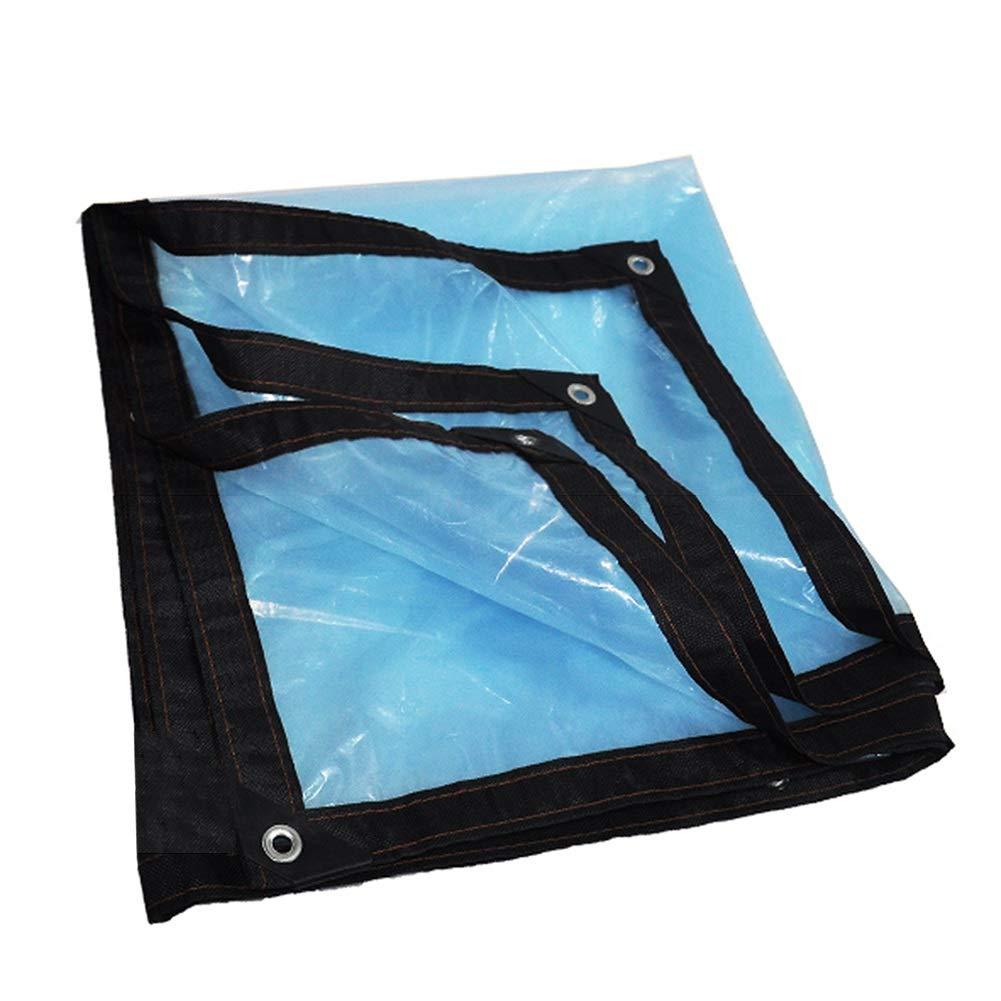 Verdickte 0.12mm Plane Windproof Kunststoff Sheeting Blaume Pflanze Blau Isolierung Film