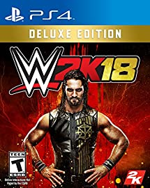 WWE 2K18 Digital Deluxe - PS4 [Digital Code]
