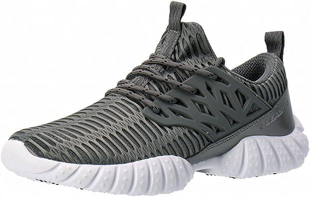 Aleader - Zapatillas de Running para Hombre, Color Gris, Talla 43 ...