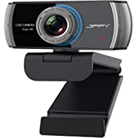 1080P Streaming Webcam with Microphone. JIFFY Usb Computer Web Camera Support Xbox, Skype, Youtube, Twitch and TV Zoom…