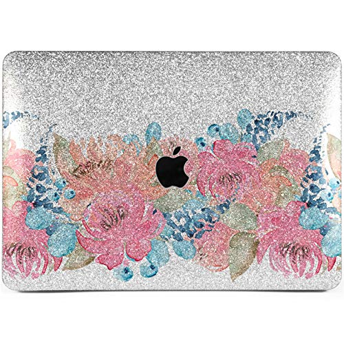 Lex Altern Glitter MacBook Air Case 13 inch Pro 15 12 11 2019 2018 2017 2016 2015 Bling Mac Apple Hard Retina Cover Sparkly Protective Shiny Vintage Light Flowers Berries ()