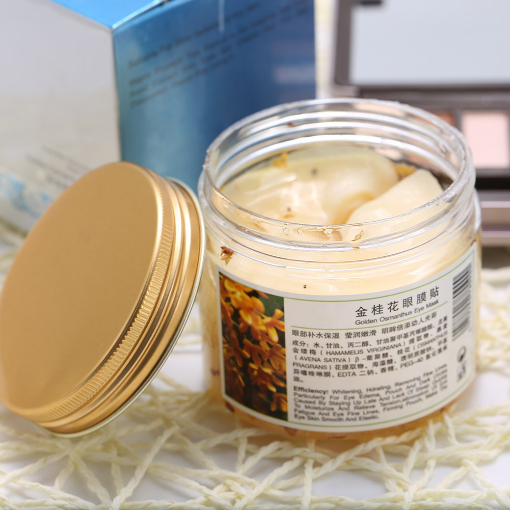 Amazon.com : Eyelid Patch, 80PCS/Bottle Golden Osmanthus Anti-Wrinkle Eye Mask of Nourishing Moisturizing : Beauty