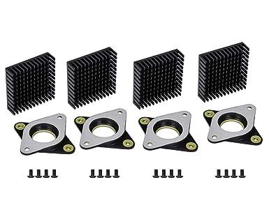 NEMA 17 Stepper amortiguadores de vibración de acero y goma y ...