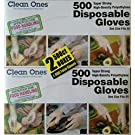 Clean ones Disposable Gloves (1000 Count)