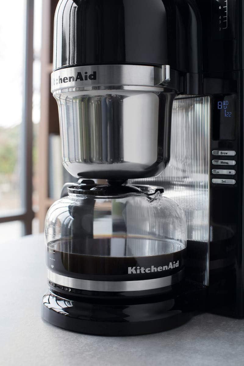KitchenAid 5KCM0802EOB - Cafetera (Independiente, Espresso machine ...
