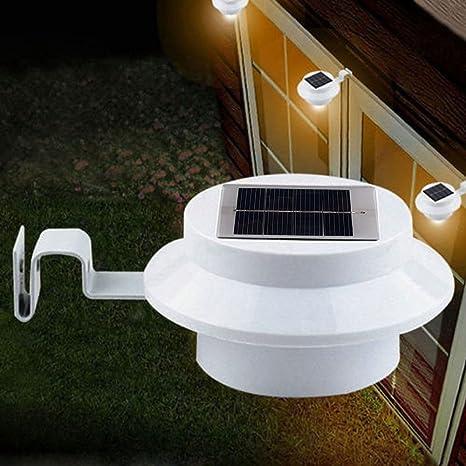 6 x Packs Luz Nocturna Solar Panana® Cerca Lampara Seguridad ...